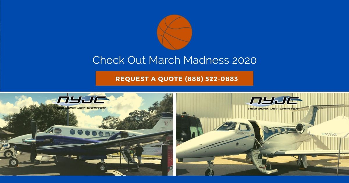 Check Out March Madness 2020 with Exclusive Private Jets
