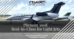 Phenom 300E Best-in-Class for Light Jets